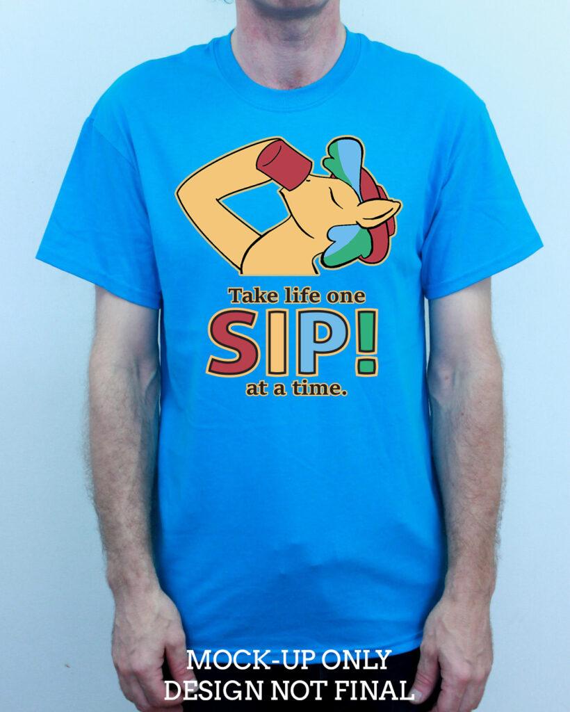 1. SIP! Meme Garment