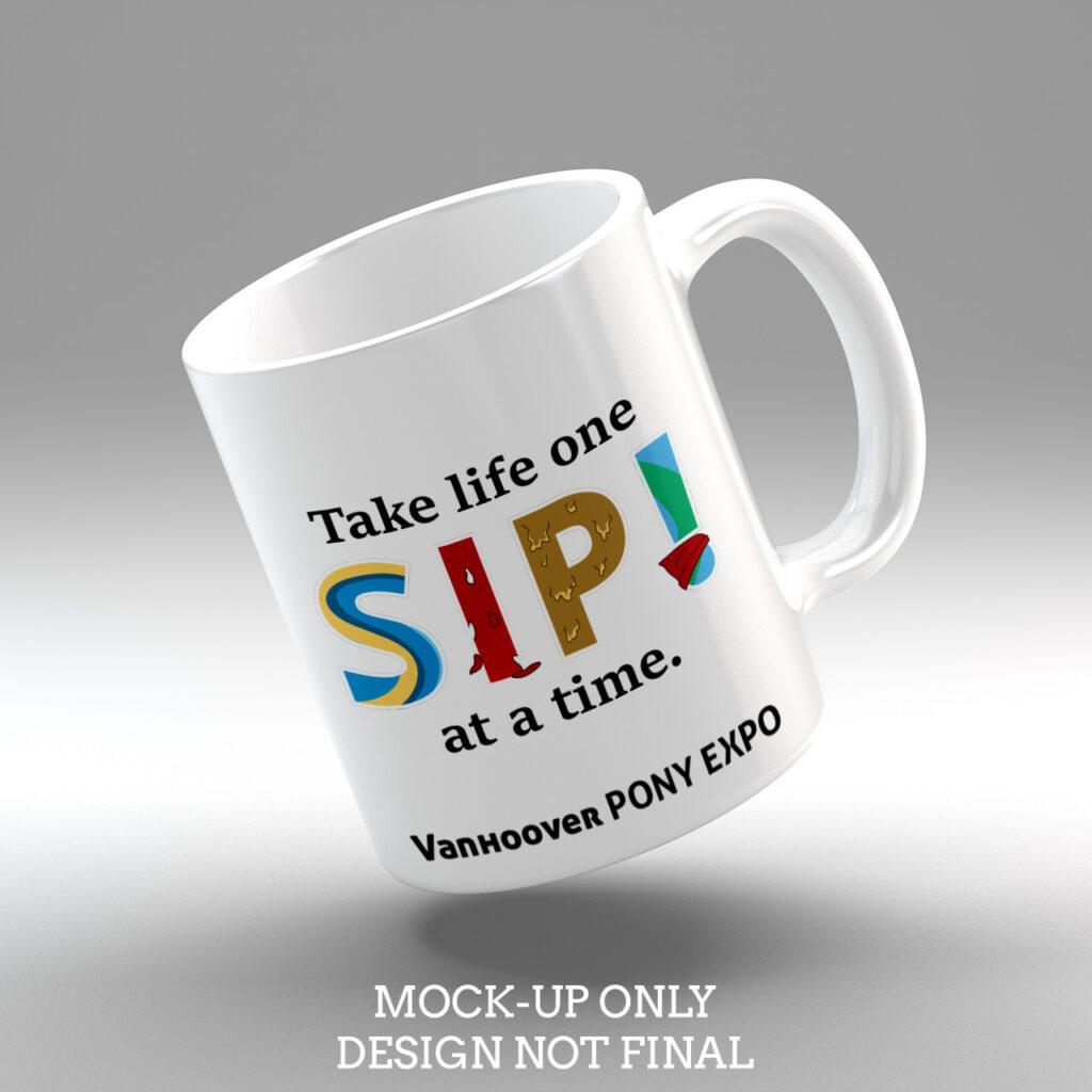 7. SIP! Mug (Text)